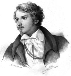 Drawing of Justus Liebig.