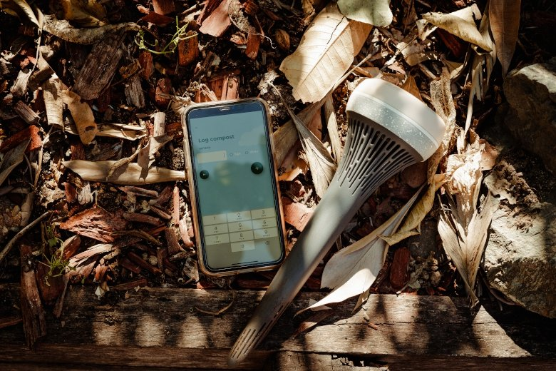 Compost monitoring technology